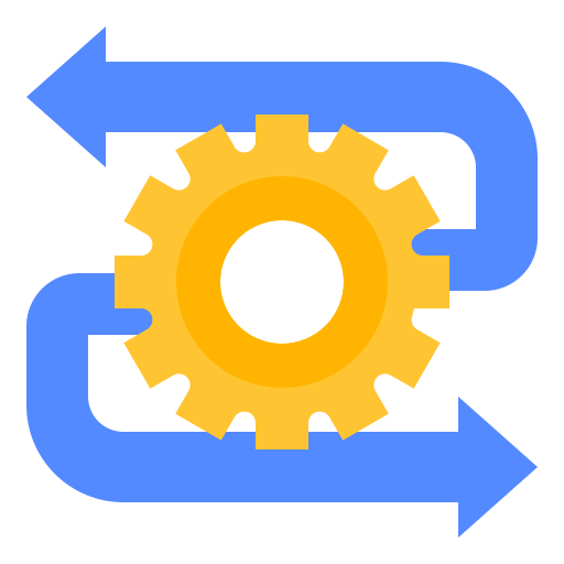 Gear tool icon